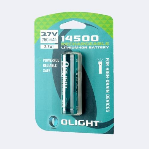Olight Batteria 14500 3,7V 750 mAh