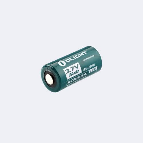 Olight Batteria RCR123A 3,7V 650 mAh