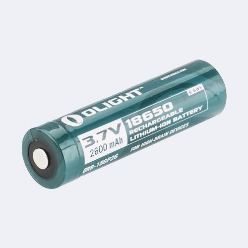 Olight Batteria 18650 3.7V 2600 mAh