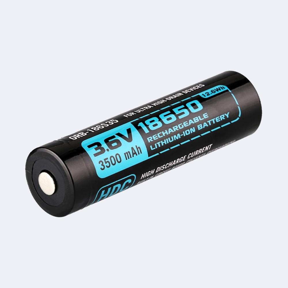 Olight Batteria HDC 18650 3,6V 3500 mAh